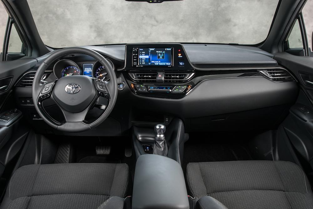 Toyota C-HR 2018 en México interior