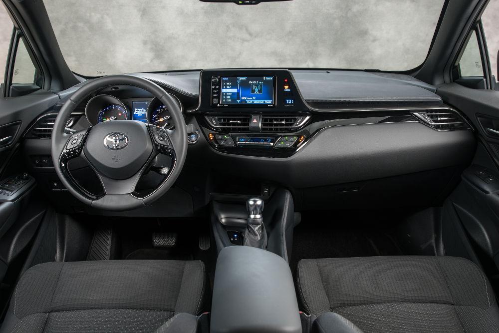 Toyota  C-HR 2018 en México - interiores