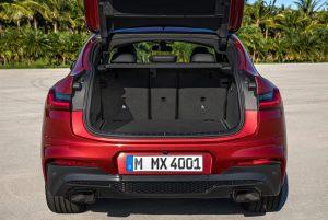 BMW X4 cajuela
