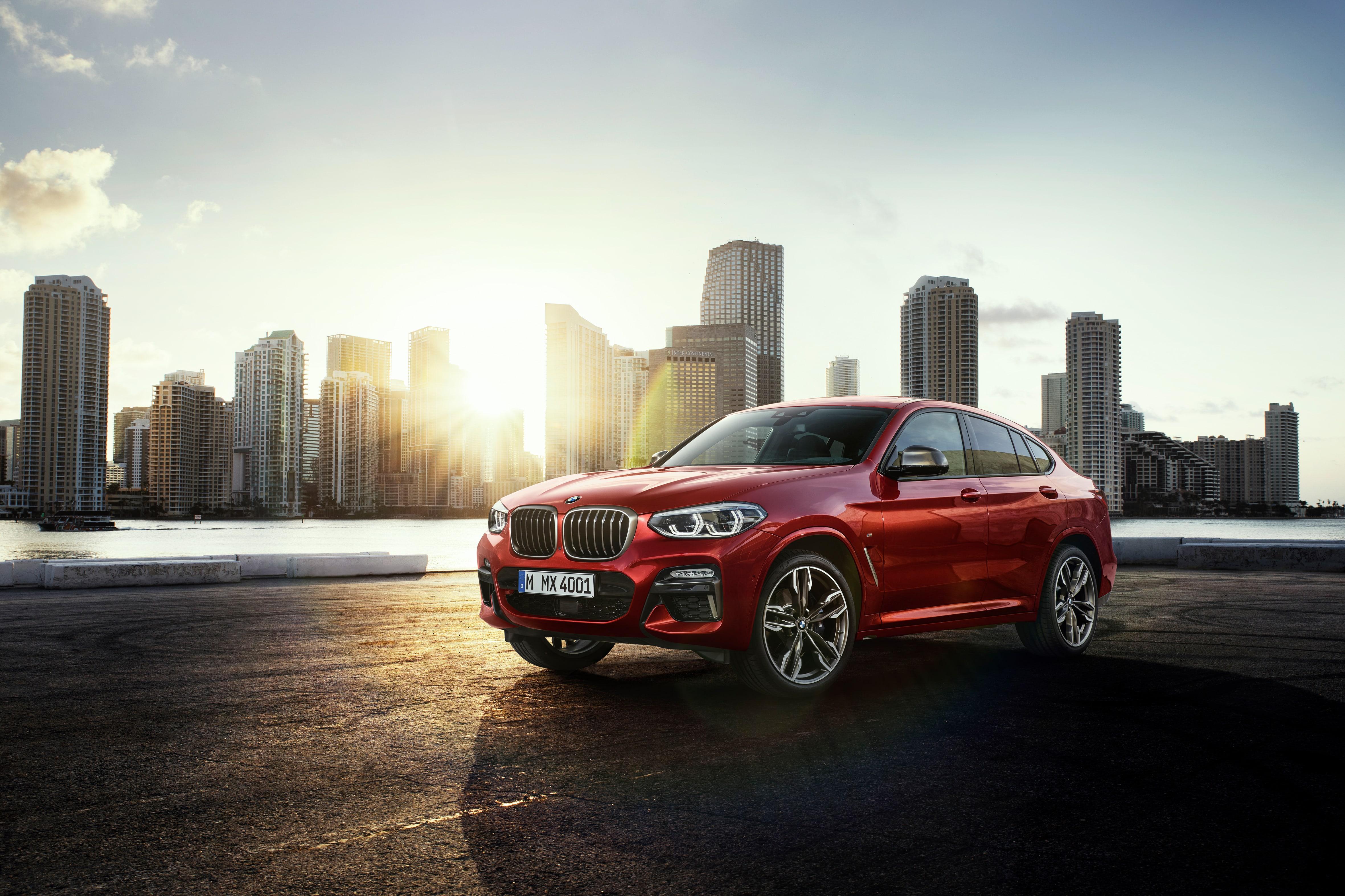 BMW X4 coche