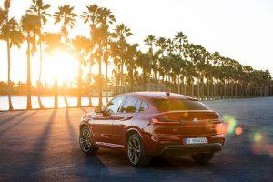 BMW X4 en calle