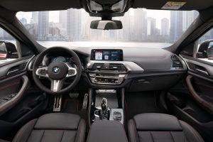 BMW X4 interiores
