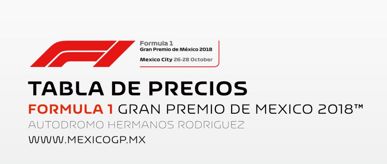 Fórmula 1 Gran Precio de México 2018
