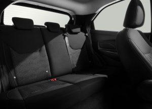 Ford Figo asientos traseros