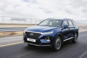 Hyundai Santa Fe 2019 en movimineto