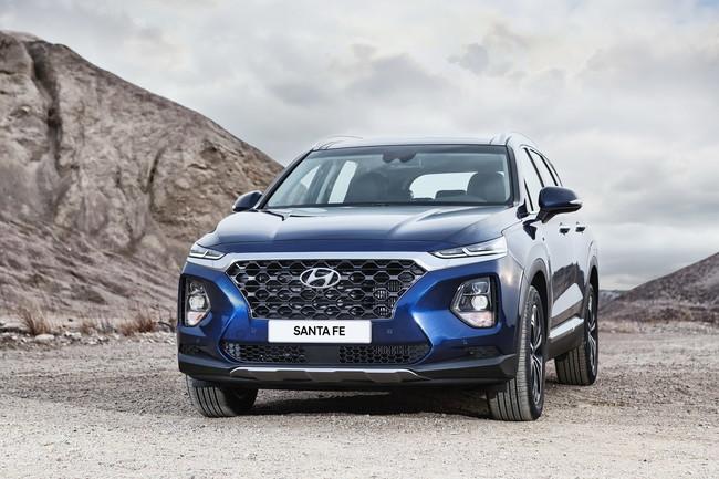 Hyundai Santa Fe 2019 frontal