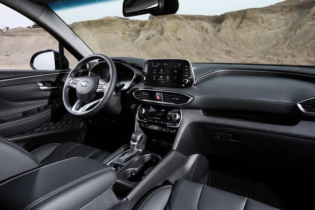 Hyundai santa fe 2019 interior autos actual m xico for Hyundai santa fe sport interior dimensions