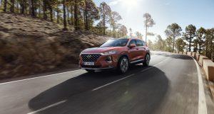 Hyundai Santa Fe 2019 rojo