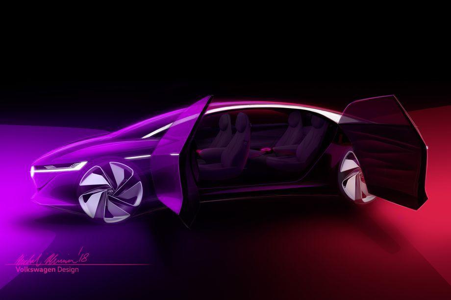 I.D. Vizzion Volkswagen