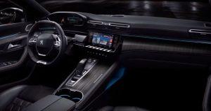 Peugeot 508 interior