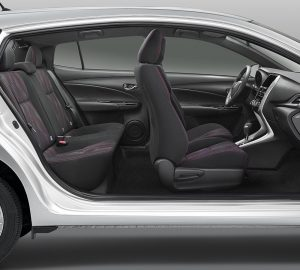 Toyoya Yaris Hatchback 2018 interior