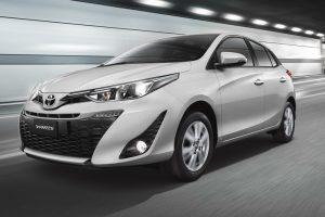 Toyoya Yaris Hatchback 2018 lateral