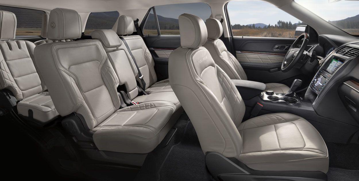 Ford Explorer 2018 en México interior asientos tres filas