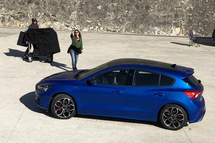 Ford Focus 2019 ST-Line sesión fotográfica