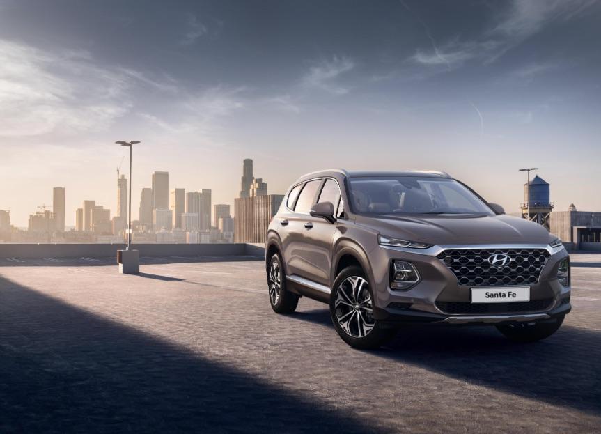 Hyundai Santa Fe 2019 exterior
