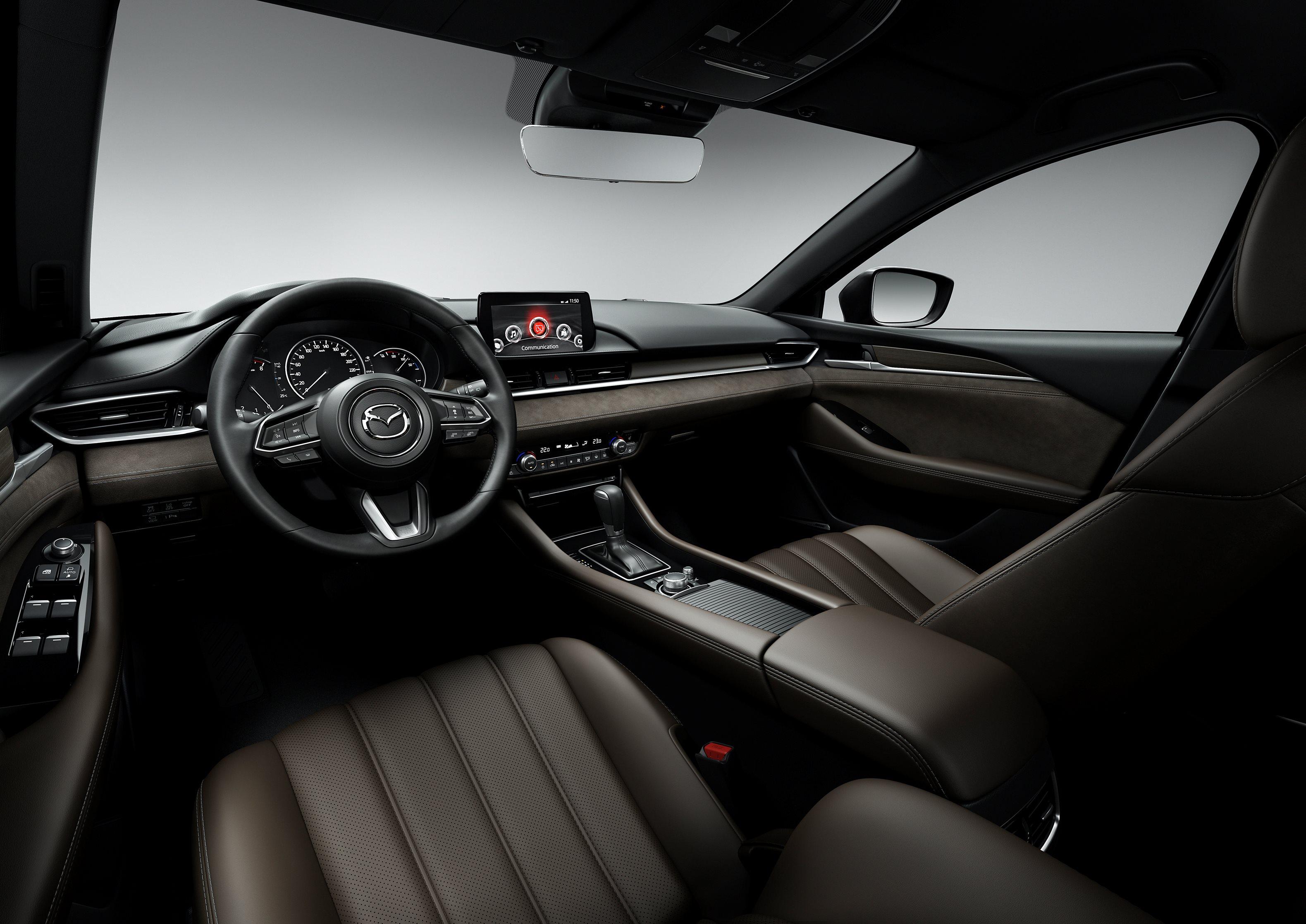 Mazda6 Wagon 2019 interior