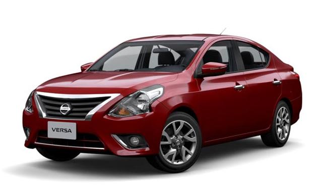 Nissan Versa 2018 color rojo