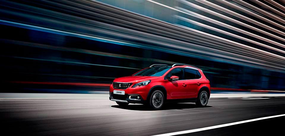 Peugeot 2008 2019 en México color rojo