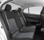 Toyota Yaris Sedán 2018 en México renovado - Interior asientos traseros