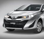 Toyota Yaris Sedán 2018 en México renovado - nuevo frente