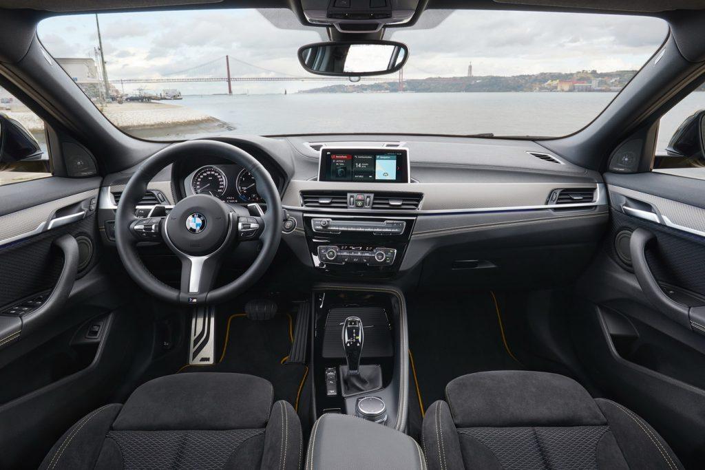 BMW X2 interior