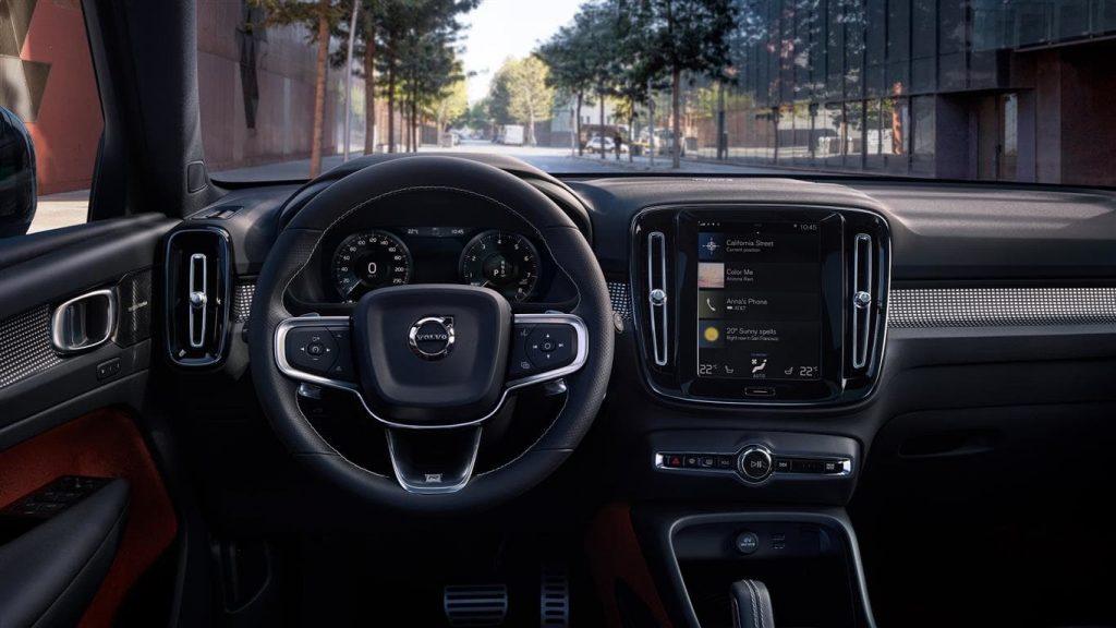 Volvo XC40 dashboard