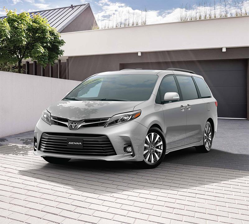 Toyota Sienna 2018 en México - exterior color plata
