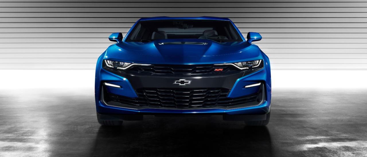 Chevrolet Camaro SS 2019 nuevo frente