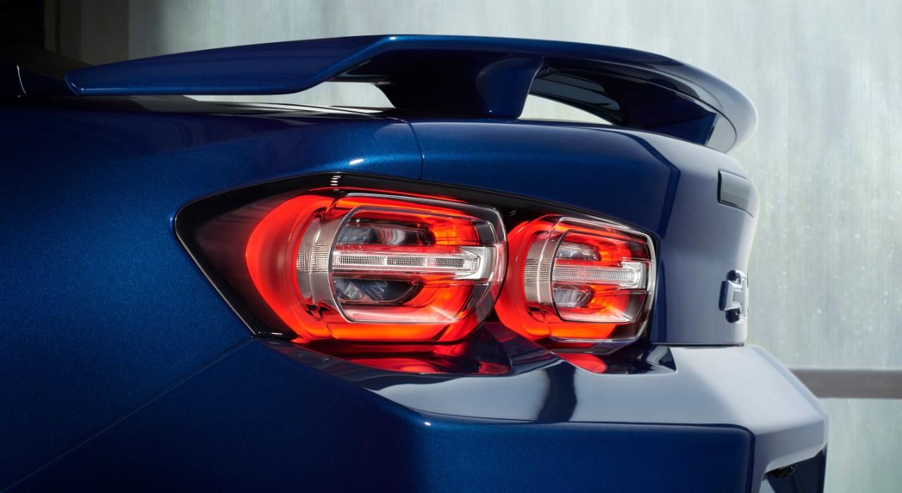 Chevrolet Camaro SS 2019 nuevas luces LED posteriores acercamiento