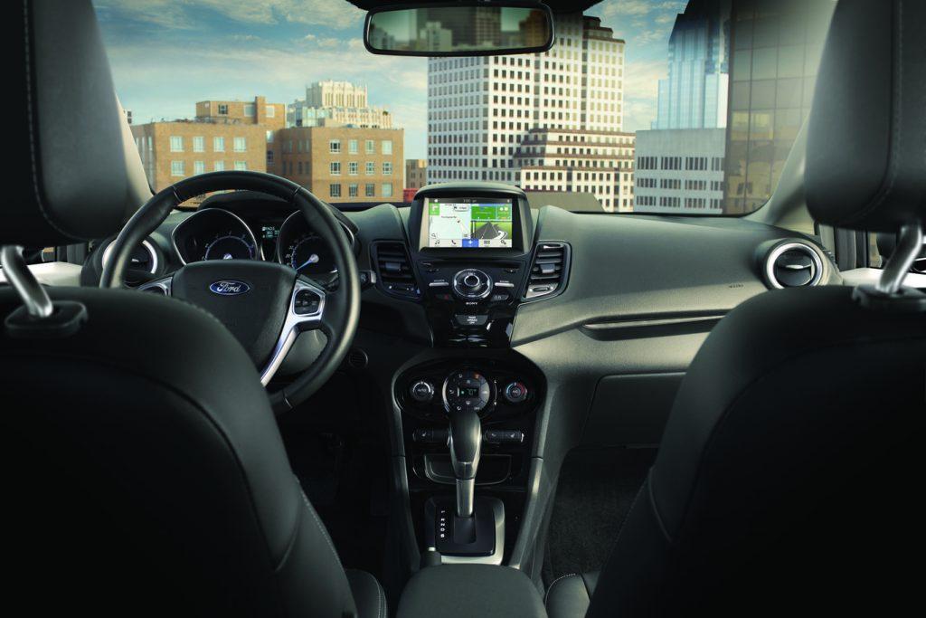Ford Fiesta 2018 interior