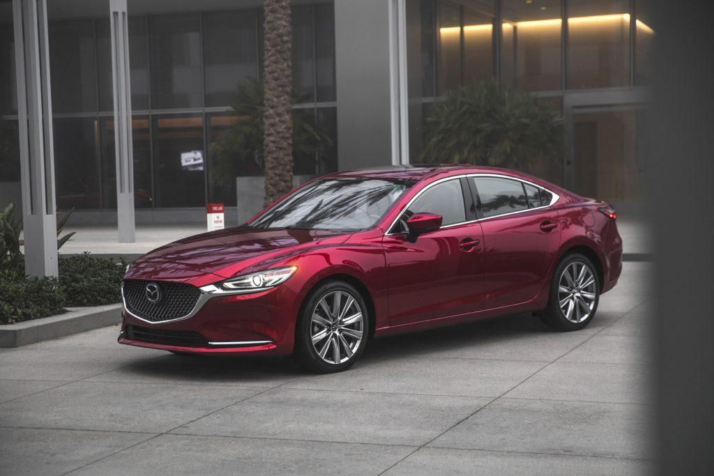 Mazda 6 2019 lateral