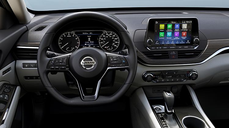Nissan Altima 2019 tablero