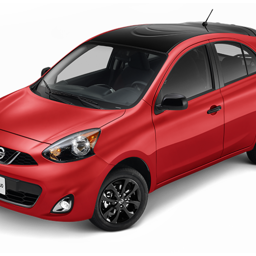 Nissan March Duo 2018 rojo
