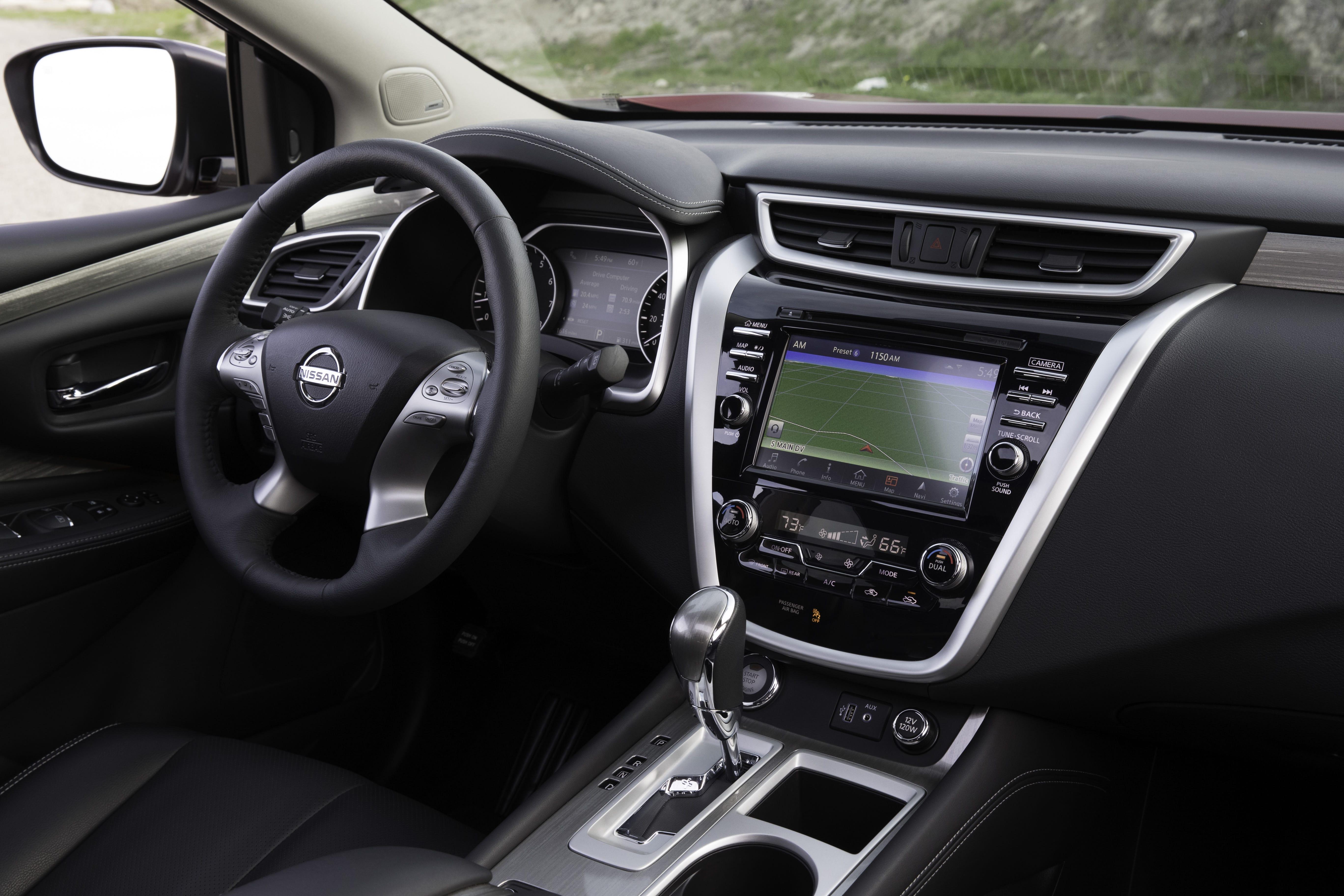 Nissan Murano 2019 Interior Min Autos Actual M 233 Xico
