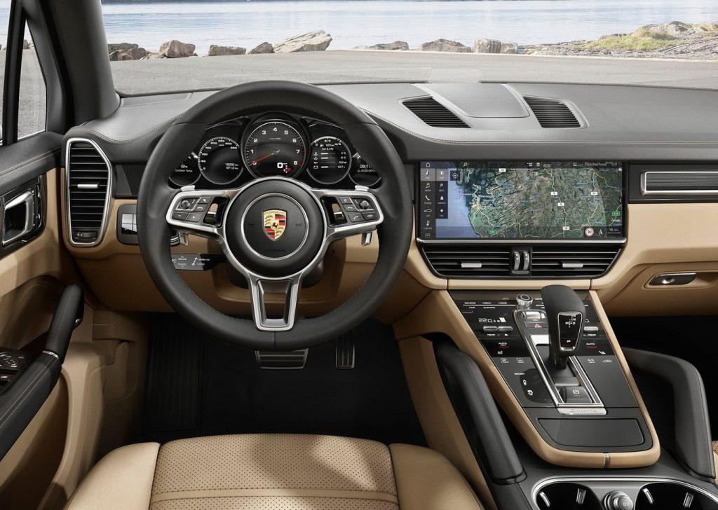 Porsche Cayenne 2019 interior