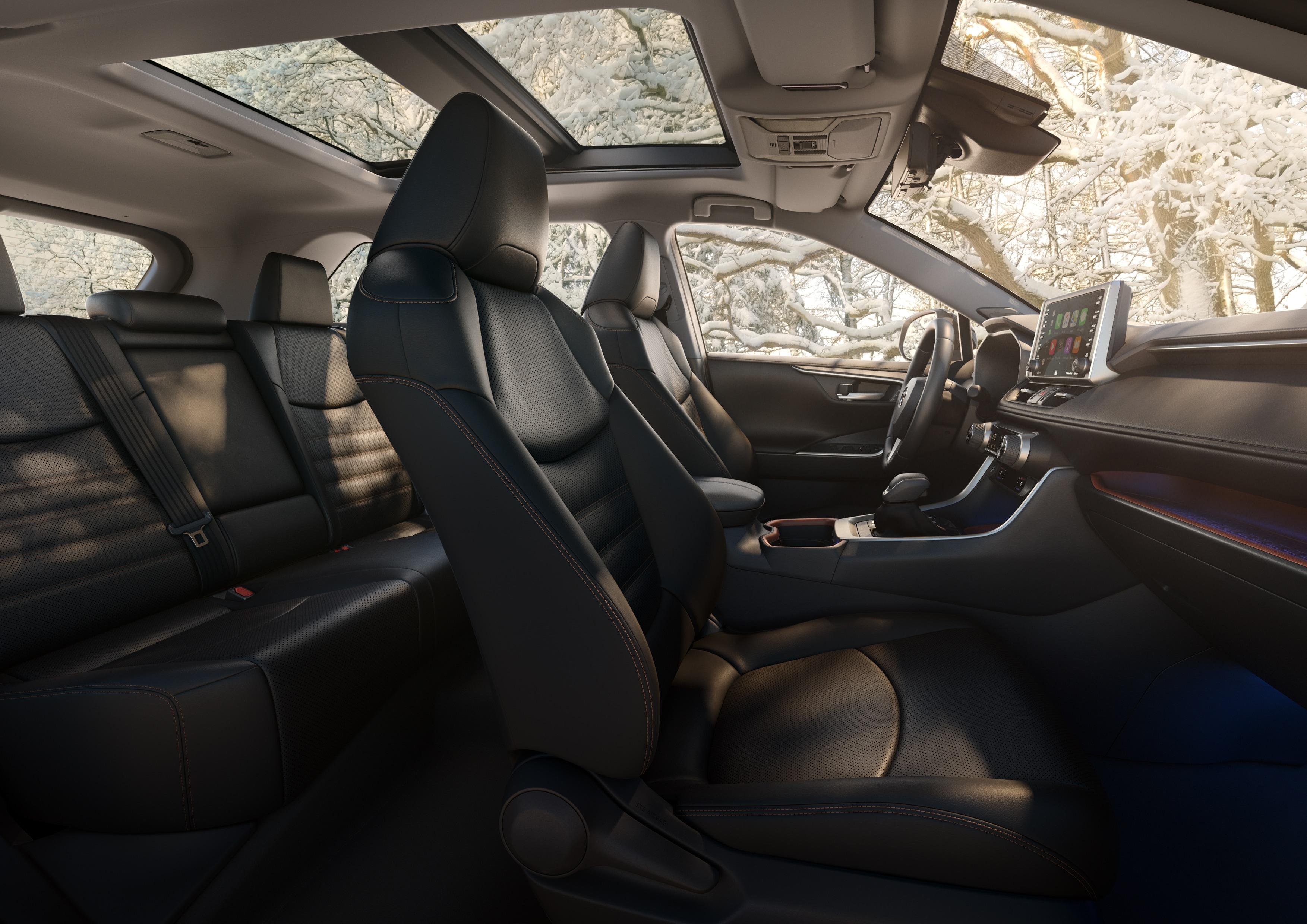 toyota rav4 2019 asientos autos actual m xico. Black Bedroom Furniture Sets. Home Design Ideas