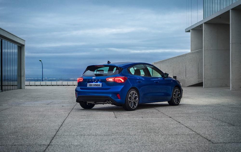 Ford Focus 2019 exterior posterior o zaga