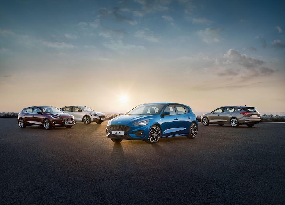 Ford Focus 2019 exterior y colores