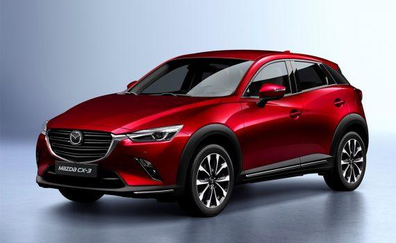 Mazda CX-3 2019 exterior con cambios