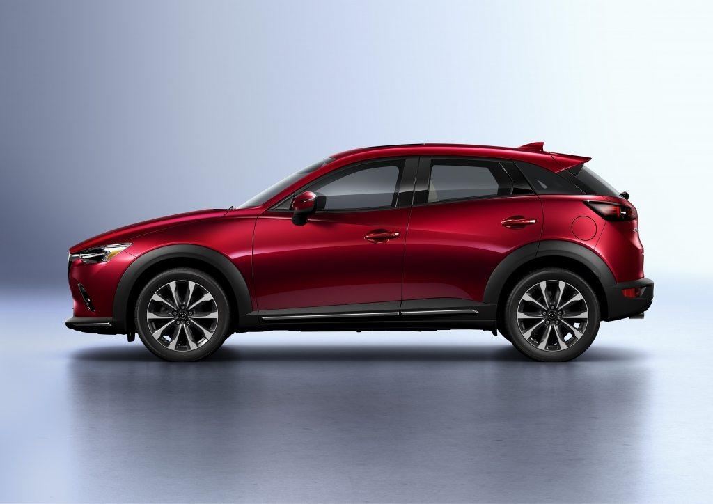 Mazda CX-3 2019 exterior lateral con cambios