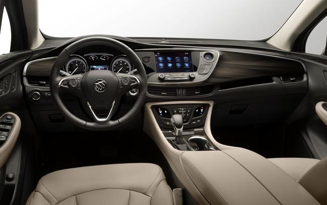 Buick Envision 2019 interior