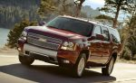 Chevrolet Suburban RST 2019 rojo