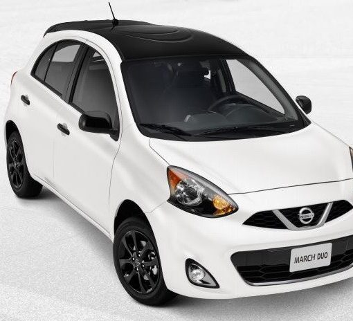 Nissan March Duo edición especial blanco