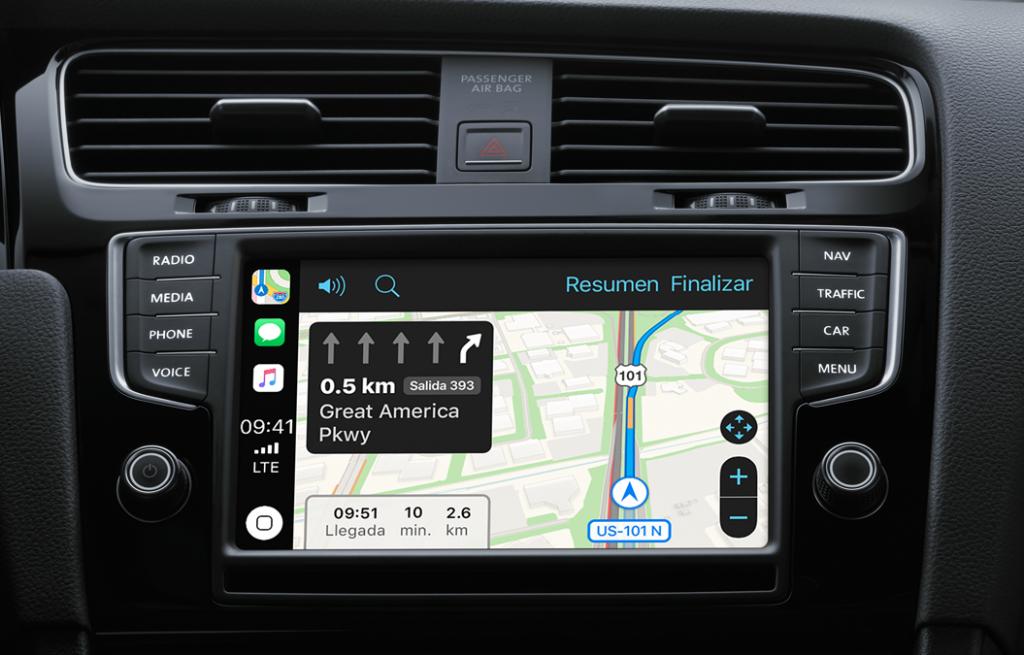 Apple CarPlay con Google Maps