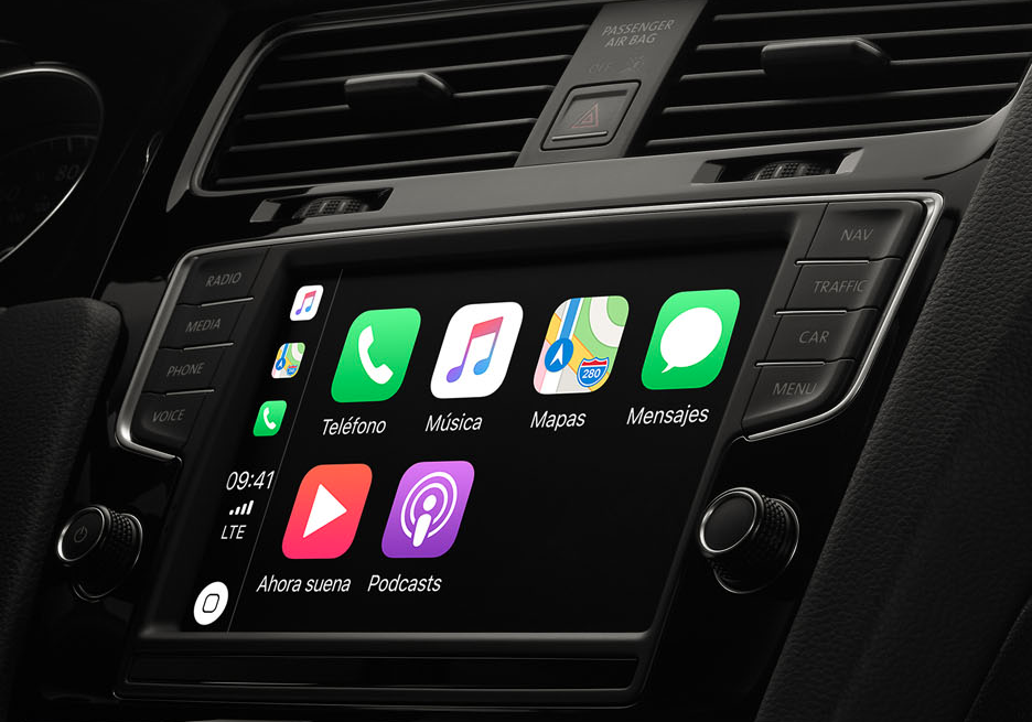 apple carplay ser compatible con google maps y waze en ios 12 autos actual m xico. Black Bedroom Furniture Sets. Home Design Ideas