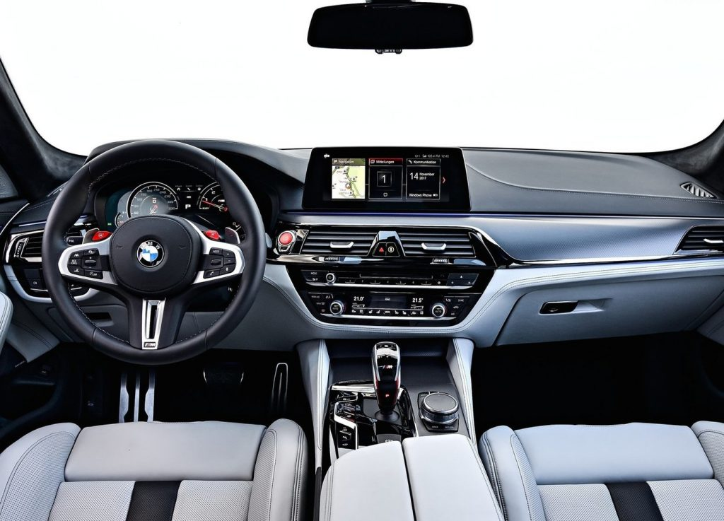 BMW M5 2019 interior