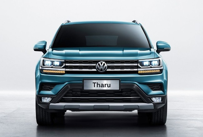 Volkswagen Tharu 2019 frente