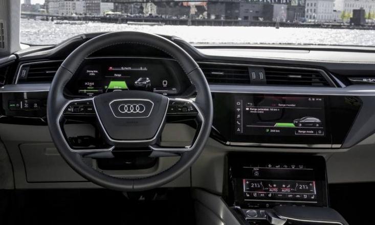 Audi e-tron habitáculo