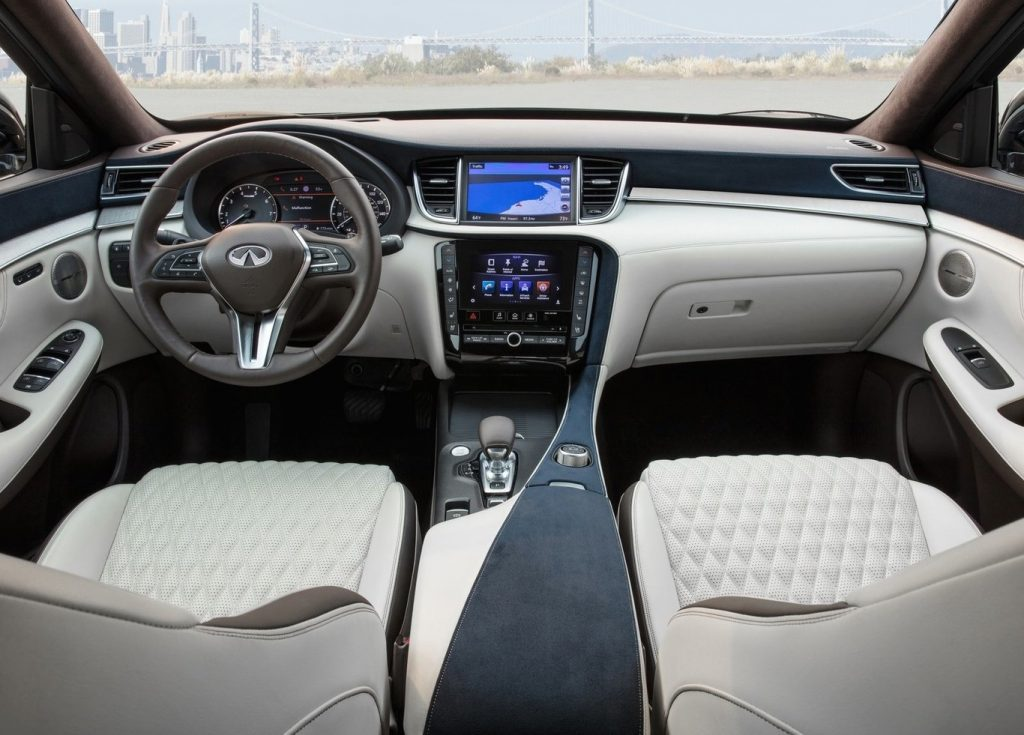 Infiniti QX50 interior