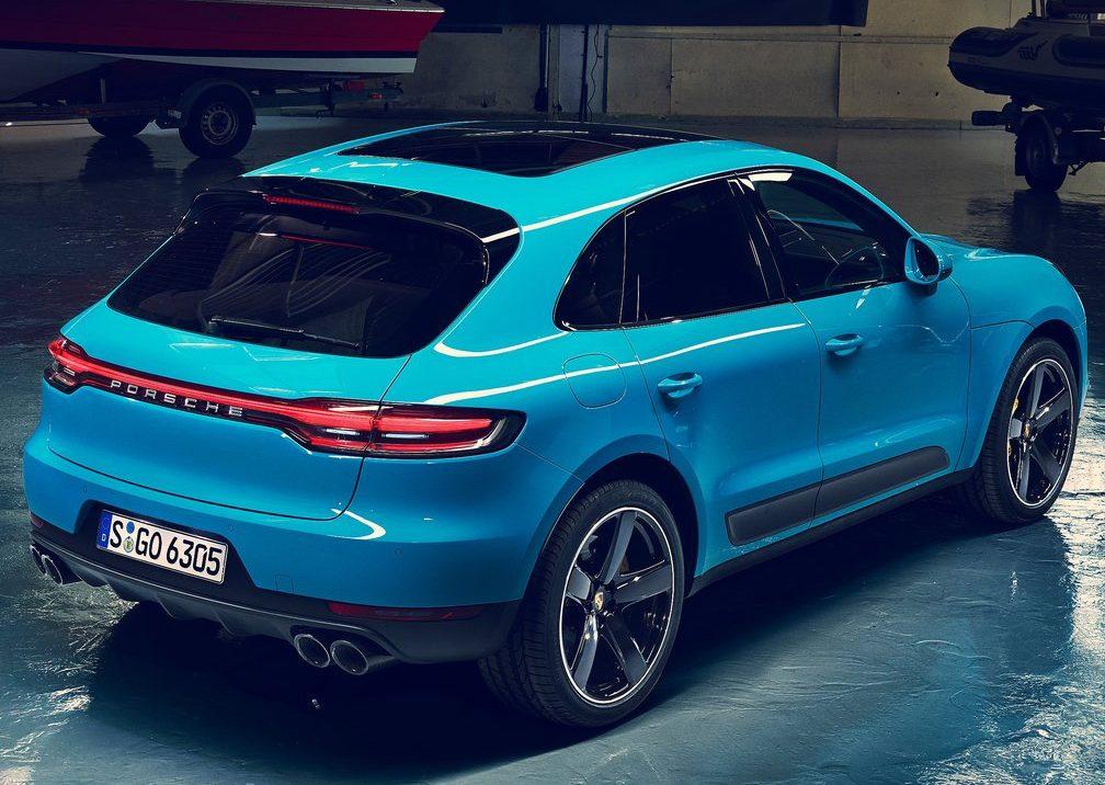 Porsche Macan 2019 perfil posterior